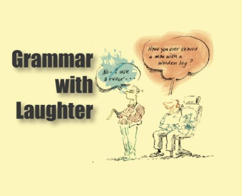 کتاب Grammar with Laughter