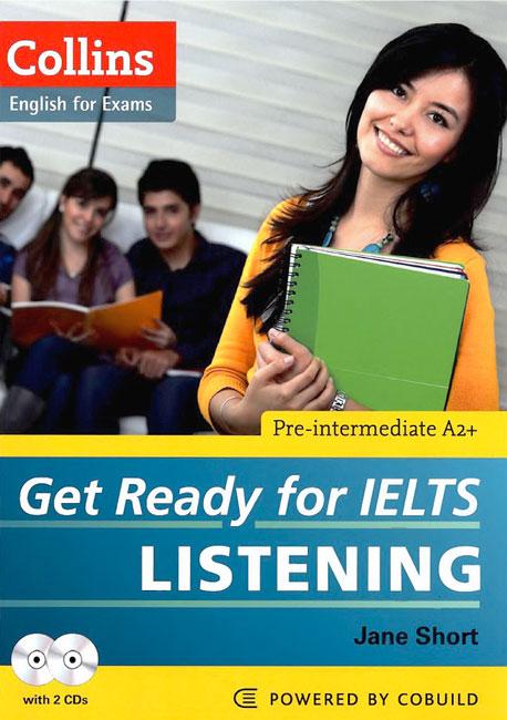کتاب Get ready for IELTS Listening- منابع آزمون آیلتس