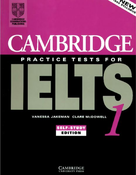 cambridge ielts 1 self study
