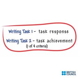 نمره دهی رایتینگ آیلتس Task response/Task achievement