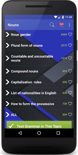 دانلود اپلیکیشن english grammar