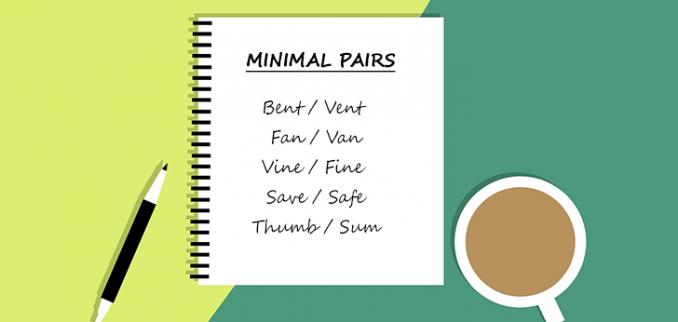 کلمات هم آوا یا minimal pairs